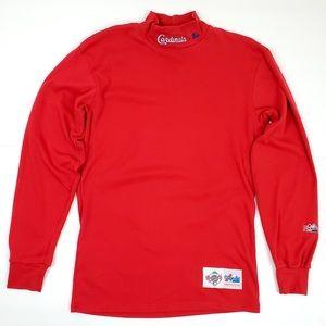 Vintage St. Louis Cardinals Sweatshirt Turtleneck